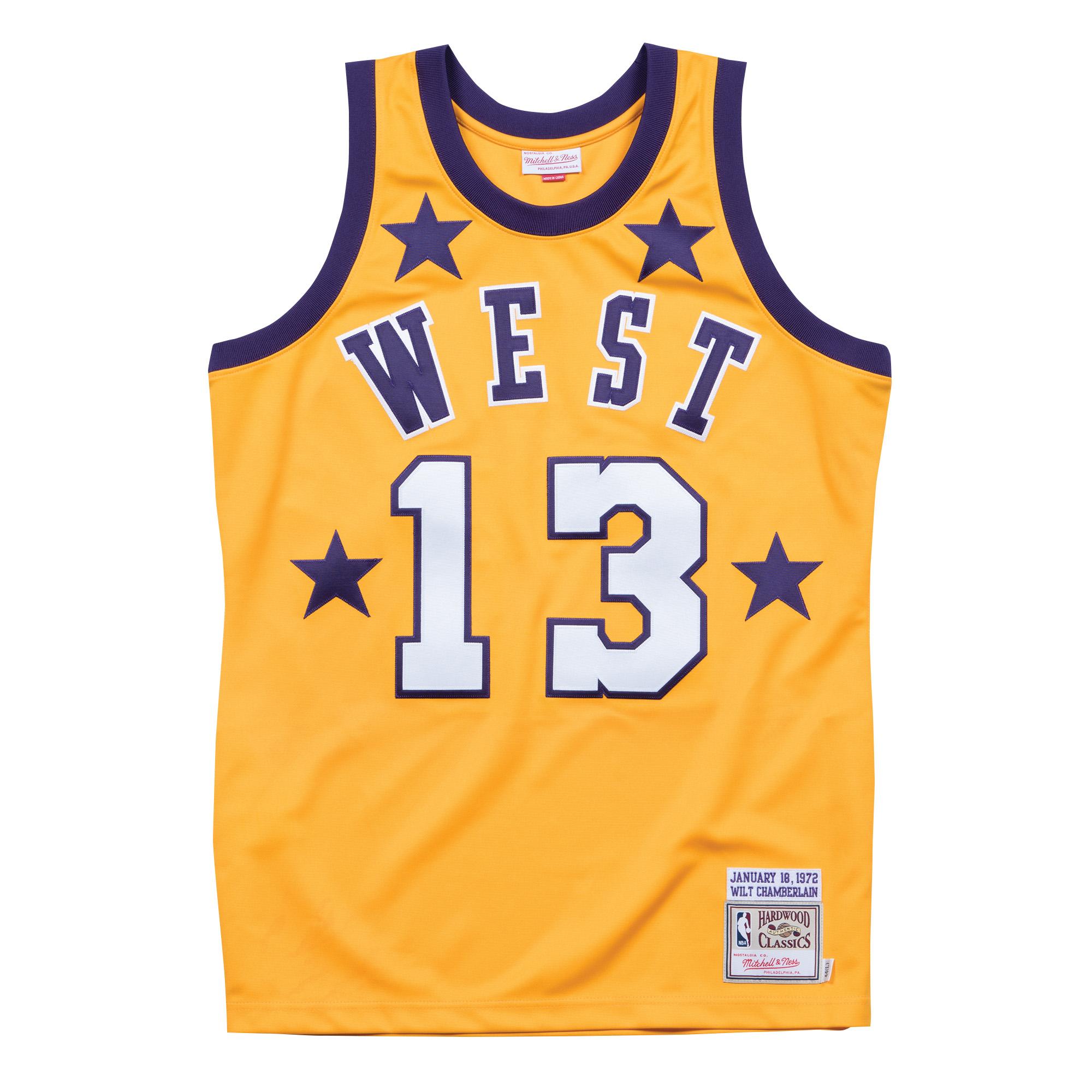 39ff9a2b6 ... new arrivals wilt chamberlain 1972 all star west authentic jersey e954b  58641 ...