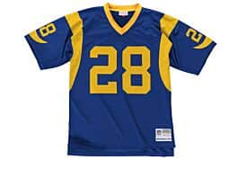 competitive price 01770 156c2 Marshall Faulk 1999 Legacy Jersey St. Louis Rams Mitchell ...