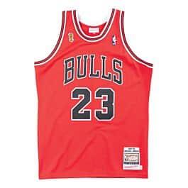 premium selection b463f 72a94 Authentic Jersey Chicago Bulls Road Finals 1995-96 Michael Jordan