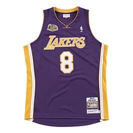 Authentic Jersey Los Angeles Lakers Road Finals 2000-01 Kobe Bryant