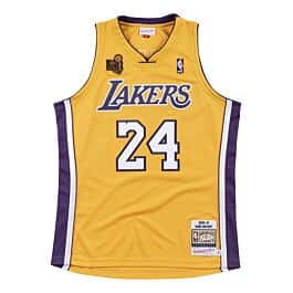Authentic Jersey Los Angeles Lakers 2009-10 Kobe Bryant