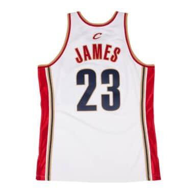 LeBron James 2003-04 Authentic Jersey Cleveland Cavaliers