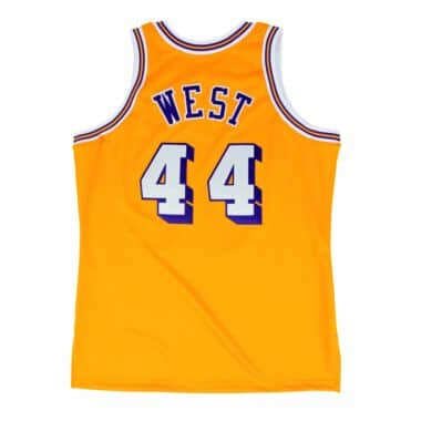 Jerry West 1971 Authentic Jersey Los Angeles Lakers