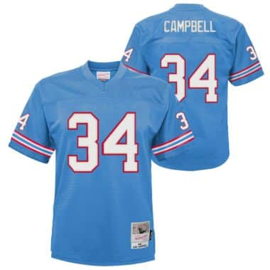 Legacy Jersey Houston Oilers 1980 Earl Campbell