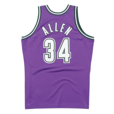 ray allen throwback jersey
