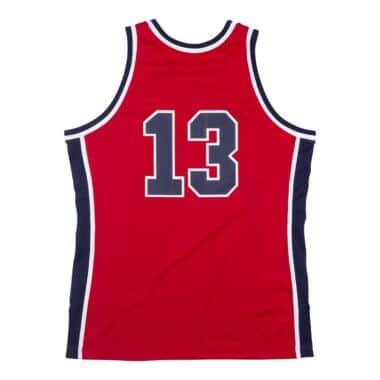 Mitchell /& Ness Mens Michael Jordan Hardwood Classics 1992 USA Basketball Dream Team Shooting Shirt White Jersey