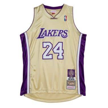 Authentic HOF #24 Kobe Bryant Los Angeles Lakers 1996-2016 Jersey