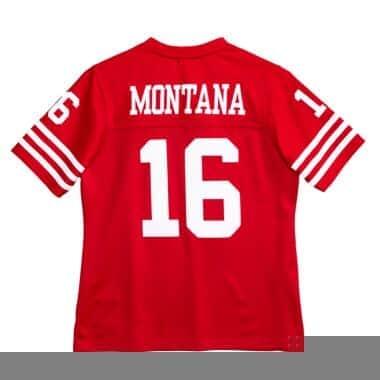 Women S Legacy Joe Montana San Francisco 49ers Jersey Shop Mitchell Ness Authentic Jerseys And Replicas Mitchell Ness Nostalgia Co
