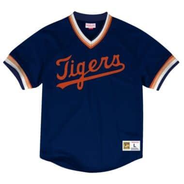 NEW DETROIT TIGERS BLUE!! throwback SWEATSHIRT Shirt XL