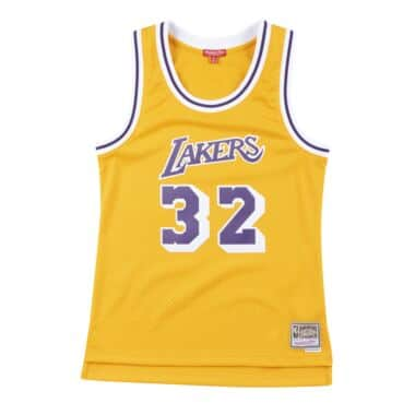 Los Angeles Lakers Throwback Apparel & Jerseys | Mitchell & Ness ...