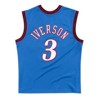 Mitchell /& Ness Swingman Allen Iverson Philadelphia 76ers 2000//2001 Trikot