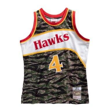 Atlanta Hawks #5 Daniel Hamilton Icon Black Swingman Jersey