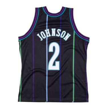 Reload Swingman Larry Johnson Charlotte Hornets 1992-93 Jersey