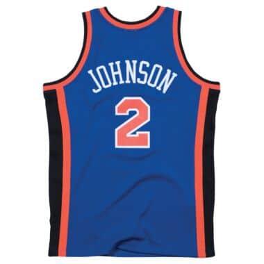 the latest 250e6 07986 Larry Johnson 1998-99 Road New York Knicks Swingman Jersey ...