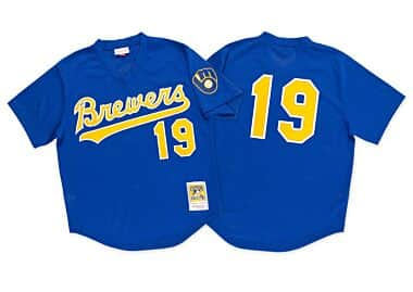 new style 9c2f1 b4b0b Milwaukee Brewers Throwback Apparel & Jerseys   Mitchell ...
