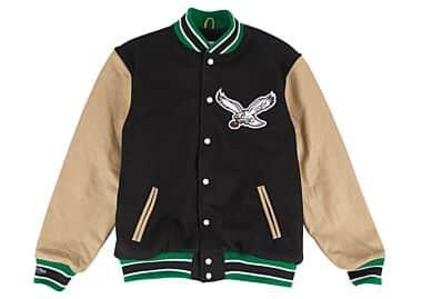 premium selection 91782 b857b Wool Jacket Philadelphia Eagles Mitchell & Ness Nostalgia Co.