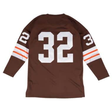 the latest 16b88 9cfcb Cleveland Browns Throwback Apparel & Jerseys | Mitchell ...