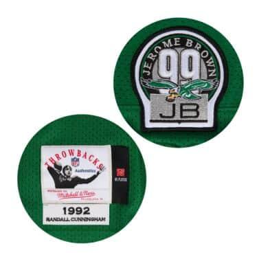 342b2660 Randall Cunningham 1992 Authentic Jersey Philadelphia Eagles ...