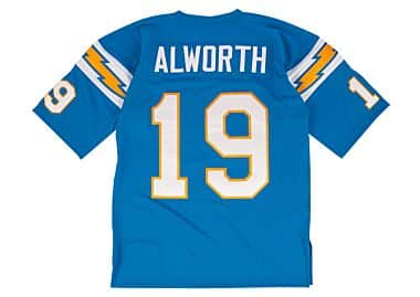 best service 13f84 4427f San Diego Chargers Throwback Apparel & Jerseys | Mitchell ...