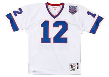 check out 99de6 20c2a Jim Kelly 1990 Authentic Jersey Buffalo Bills Mitchell ...