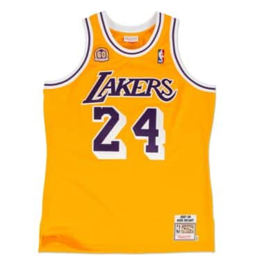 finest selection d47ca abb69 Premium Gold Jersey Los Angeles Lakers 2008-09 Kobe Bryant ...