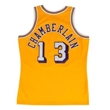 buy popular 8d211 88e68 Wilt Chamberlain 1971-72 Authentic Jersey Los Angeles Lakers ...