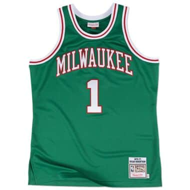 sale retailer d2570 03a8f Milwaukee Bucks Throwback Apparel & Jerseys | Mitchell ...
