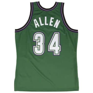purchase cheap 0a0d5 523bc Ray Allen 1996-97 Authentic Jersey Milwaukee Bucks