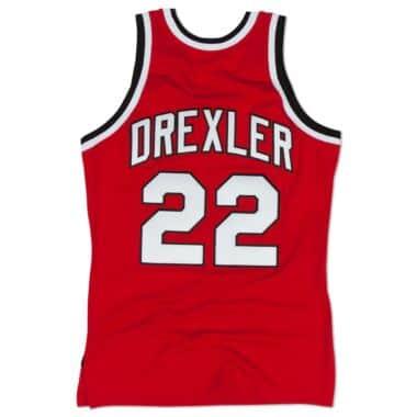 reputable site 9ecf1 03d34 Clyde Drexler 1983-84 Authentic Jersey Portland Trail Blazers