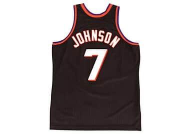 buy popular 66b4a e8e85 Kevin Johnson 1996-97 Authentic Jersey Phoenix Suns Mitchell ...