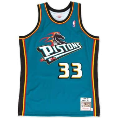 on sale 28e81 e8bc9 Detroit Pistons Throwback Apparel & Jerseys | Mitchell ...