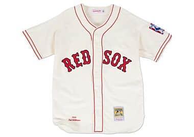get cheap 88765 7da88 Boston Redsox Throwback Sports Apparel & Jerseys   Mitchell ...