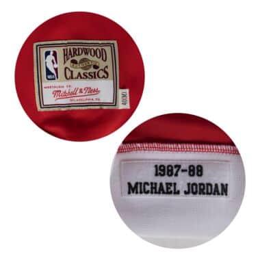 Michael Jordan 1987-88 Authentic Shooting Shirt Chicago