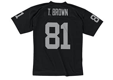 cheap for discount 15d96 3571f Tim Brown 1997 Legacy Jersey Oakland Raiders Mitchell & Ness ...