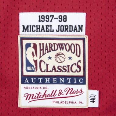 brand new f2aed ccf30 Authentic Jersey Chicago Bulls Road Finals 1997-98 Michael Jordan
