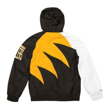 meet 67f9f 3964d Shark Tooth Jacket Pittsburgh Steelers Mitchell & Ness ...