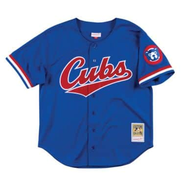 size 40 5dee6 c8bef Mesh BP Jerseys - Chicago Cubs Throwback Apparel & Jerseys ...