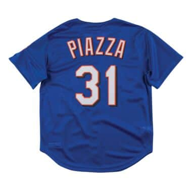 finest selection 1cb6f f9d18 Authentic Mesh BP Jersey New York Mets 1999 Mike Piazza