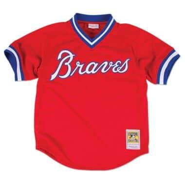 san francisco 3f24b 96c66 Atlanta Braves Throwback Sports Apparel & Jerseys | Mitchell ...
