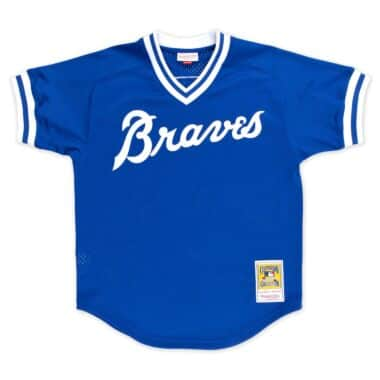 san francisco 08b8f 5ab51 Atlanta Braves Throwback Sports Apparel & Jerseys | Mitchell ...