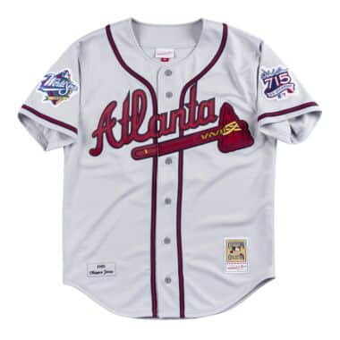san francisco c2b35 df108 Atlanta Braves Throwback Sports Apparel & Jerseys | Mitchell ...