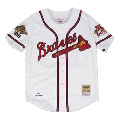 san francisco 3f24b 96c66 Atlanta Braves Throwback Sports Apparel & Jerseys | Mitchell ...