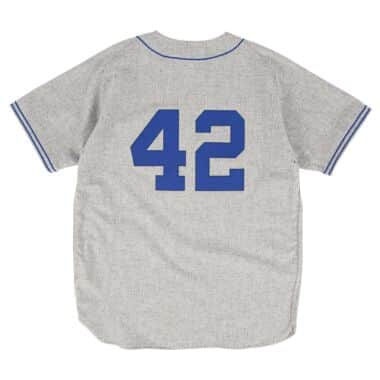 the best attitude 050be c149e Authentic Jersey Brooklyn Dodgers Road 1955 Jackie Robinson ...