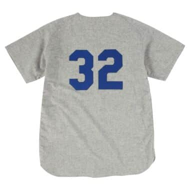 wholesale dealer ef0ca 54857 Authentic Jersey Los Angeles Dodgers Road 1963 Sandy Koufax