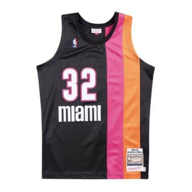 Miami Heat Throwback Apparel Jerseys Mitchell Ness Nostalgia Co