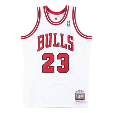 white chicago bulls jersey