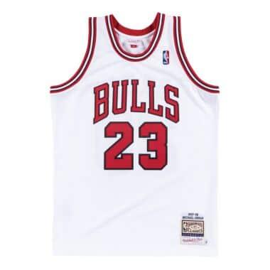 Authentic Jersey Chicago Bulls Home 1997-98 Michael Jordan
