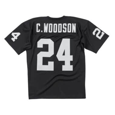 reputable site f60c5 fa367 Authentic Jersey Oakland Raiders 2002 Charles Woodson