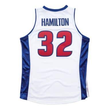on sale 28e81 e8bc9 Detroit Pistons Throwback Apparel & Jerseys   Mitchell ...