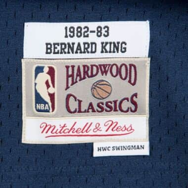 buy popular 04123 51ea0 Bernard King 1982-83 New York Knicks Road Swingman Jersey ...